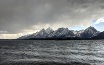 A storm heads for the Tetons!