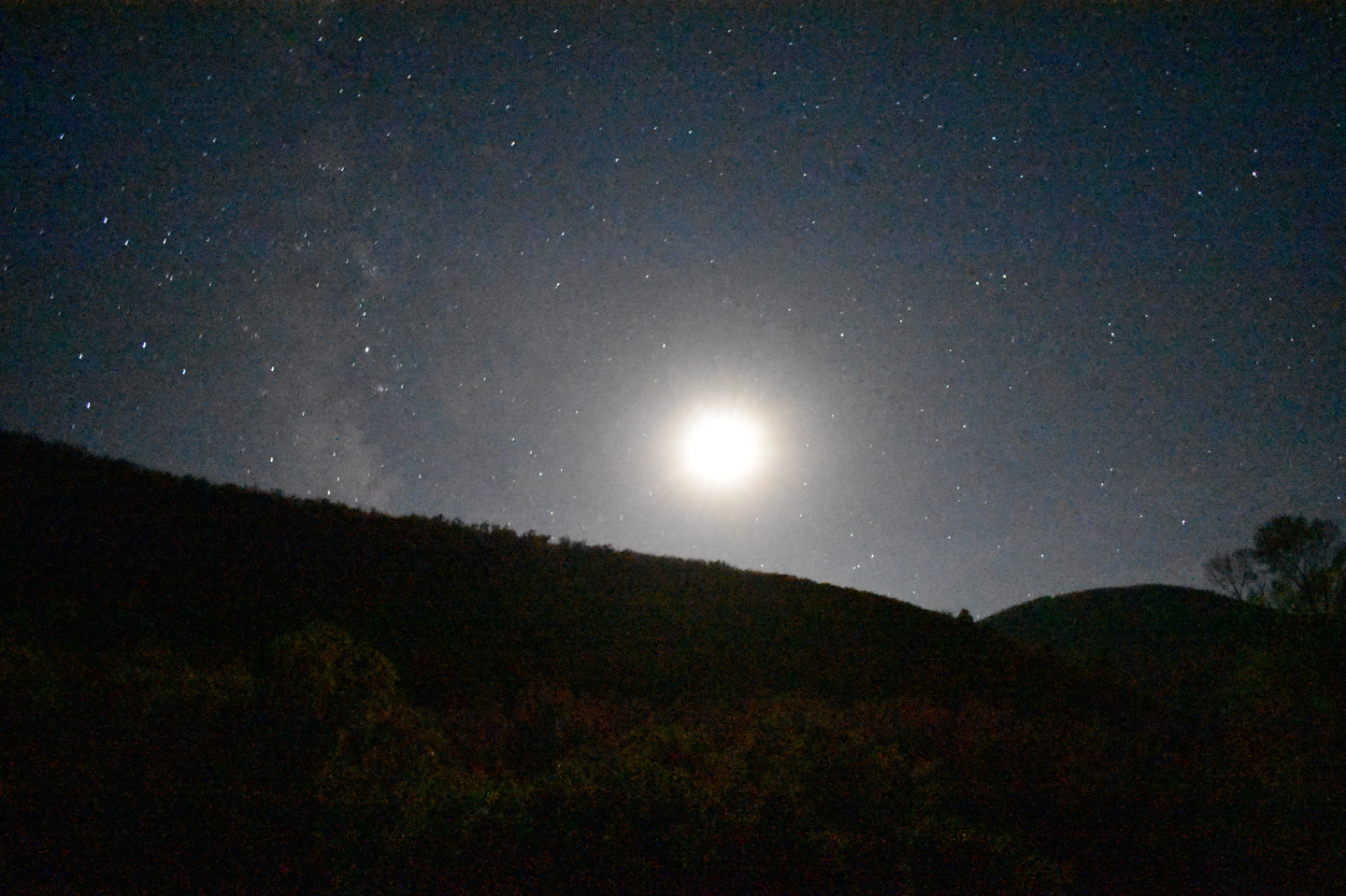 The night sky near Crawford, CO
